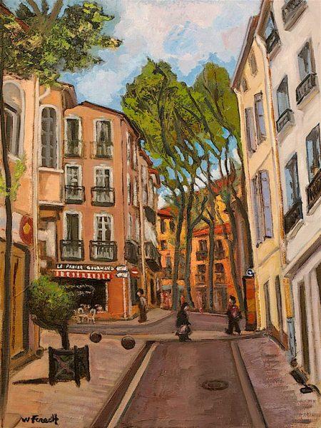 Avenue Michel Aribaud HST 61x46
