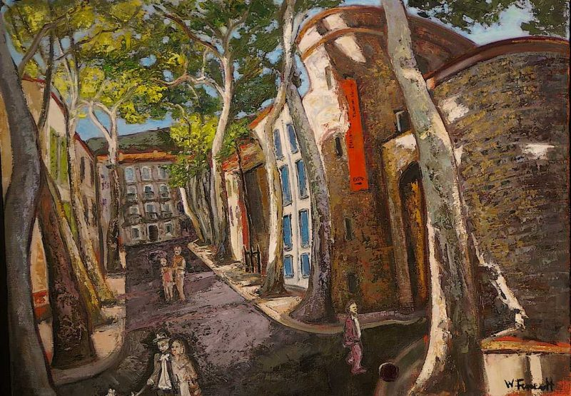 Boulevard Lafayette HST 54x73 - William Fenech