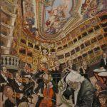 Concert imaginé au Margravial Opera House HST 73x60