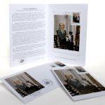 Dépliant, enveloppe, carte et timbre en hommage à Pinchus Krémègne d'après une oeuvre de William Fenech