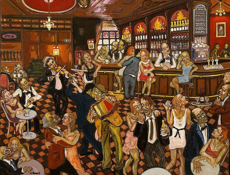 Irish Pub - HST - 89 x 116