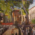 Le Pablo Place Picasso HST 65x92 - William Fenech