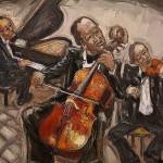 Le Violoncelliste HST 65x54