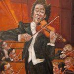 Le Violoniste HST 73x60