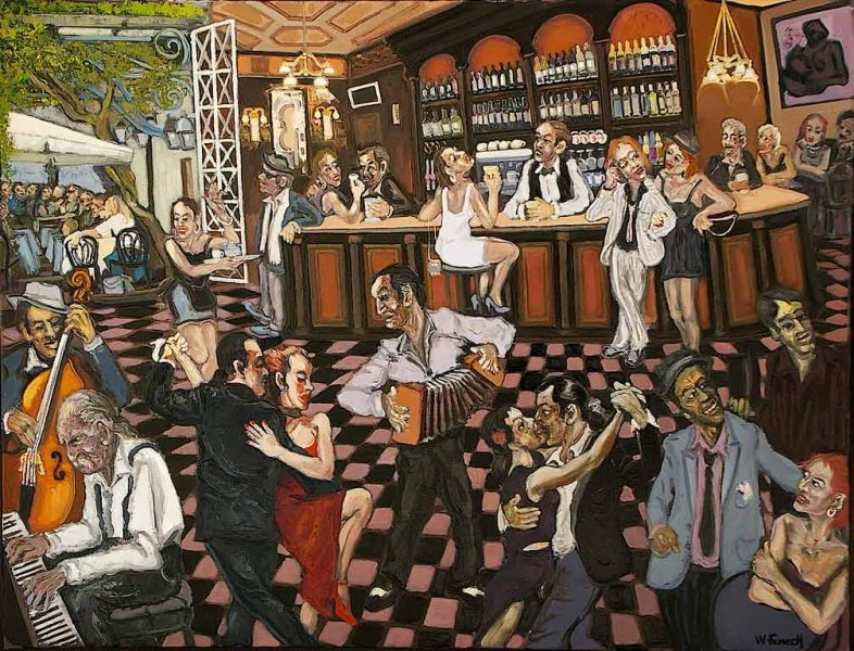 Le grand café HST 89x116 - William Fenech
