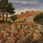 Paysage du Roussillon HST 50x65