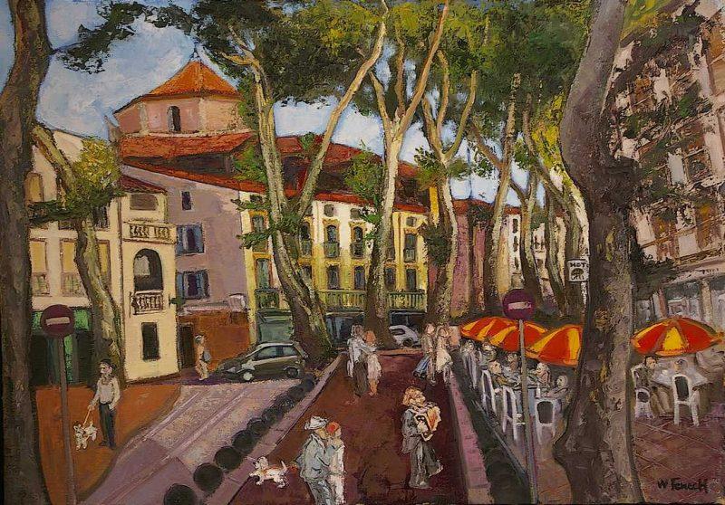 Place Picasso HST 65x92 - William Fenech