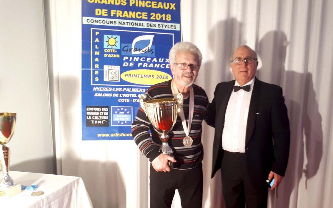 Diplôme Grands Pinceaux de France