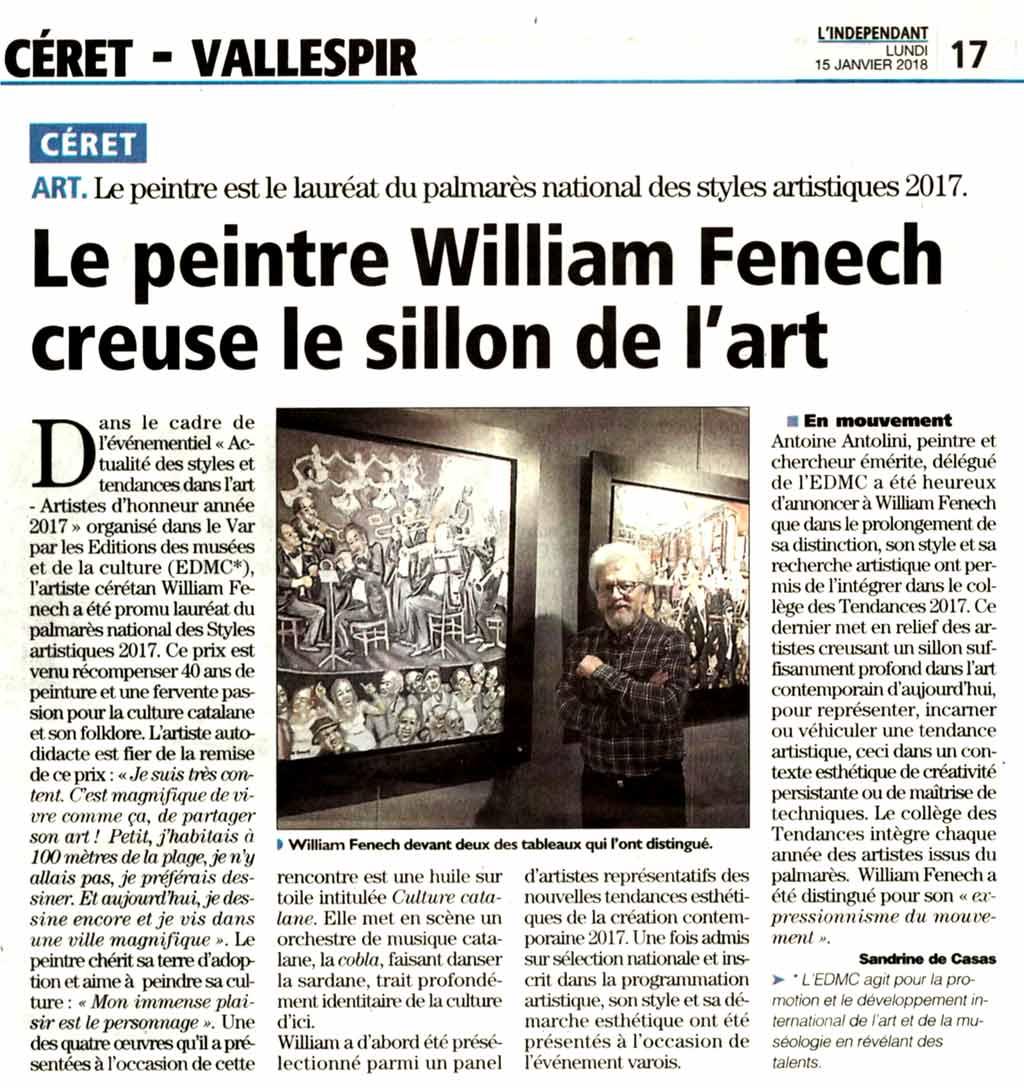 article-lindependant-janvier-2018-Fenech-EDMC