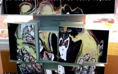 Couverture et article dans l'Art vues