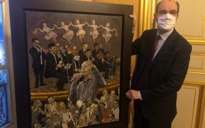 Une toile de William Fenech à Matignon