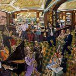 Le Pub des Artistes HST 114x146