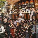Le grand café HST 89x116 - William Fenech