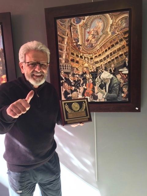 William Fenech Grande Médaille d'Or - Talents des Arts d'Aujourd'hui - Artiste d'Excellence - Cannes 2019